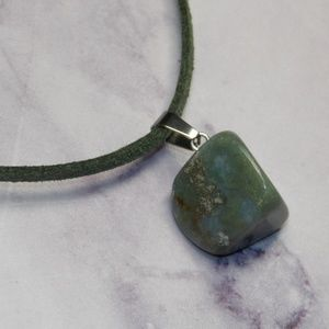 Other - Beautiful Tumbled Stone Necklace Natural Spiritual